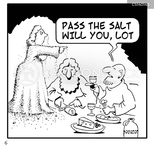 salt block cartoon