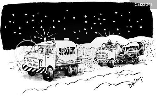 snow breaker cartoon