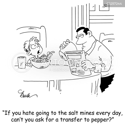 seasonings cartoon