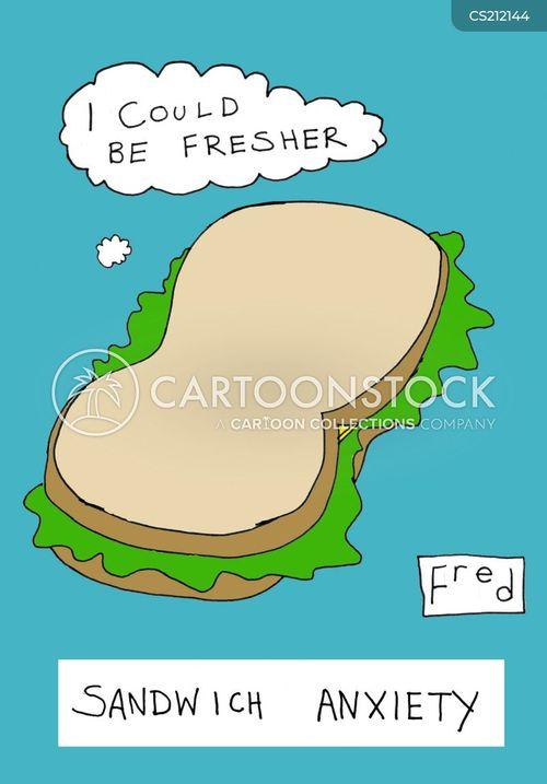 takeaway foods cartoon