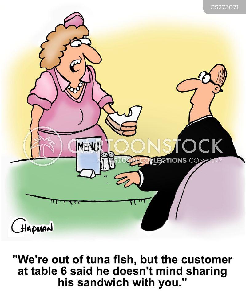 tuna fish cartoon