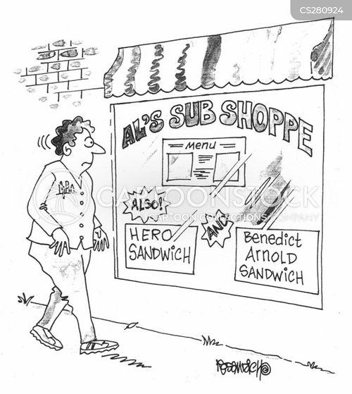 benedict cartoon