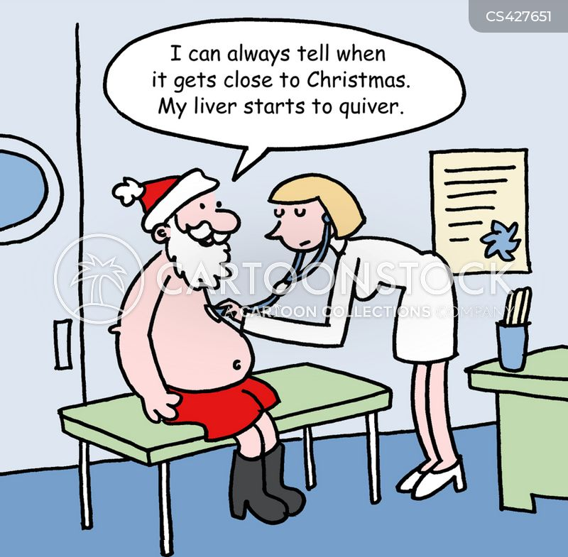 liver disease cartoon