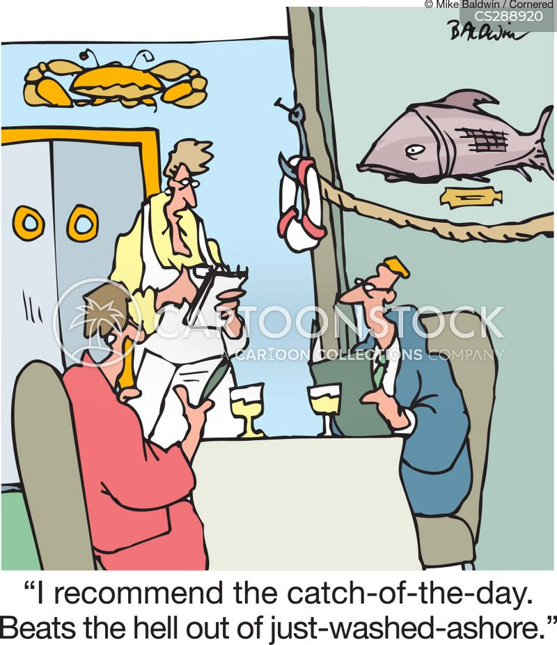 Catch Of The Day cartoons, Catch Of The Day cartoon, funny, Catch Of The Day picture, Catch Of The Day pictures, Catch Of The Day image, Catch Of The Day images, Catch Of The Day illustration, Catch Of The Day illustrations