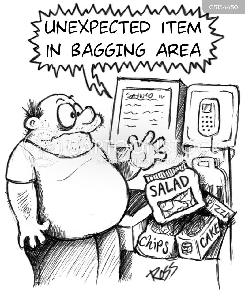 salad cartoon