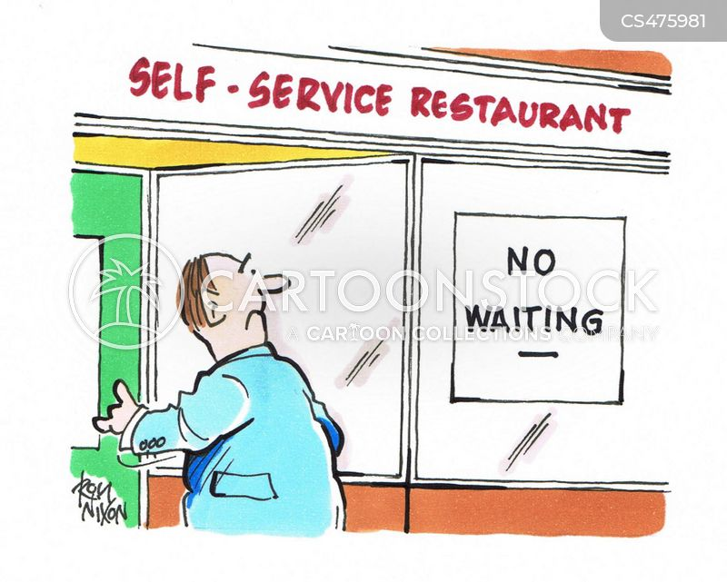 novelty restaurants cartoon