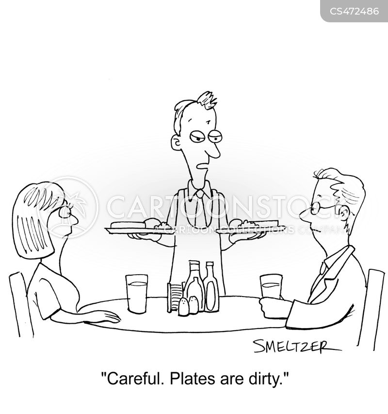 hot plate cartoon