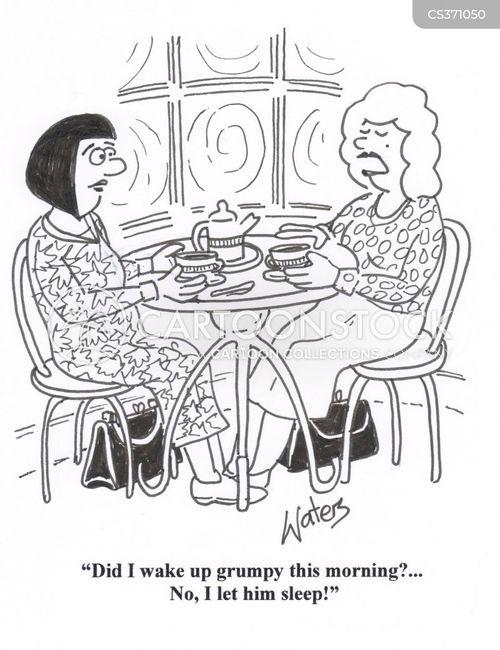 tea shop cartoon