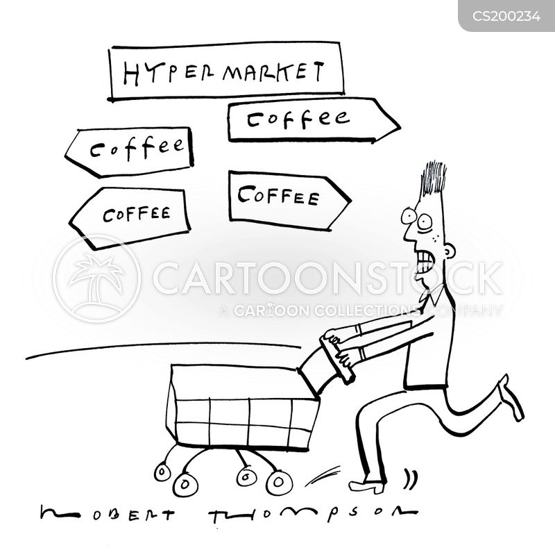 coffee drinkers cartoon