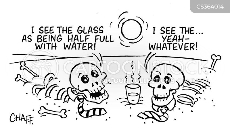 dying of thirst cartoon