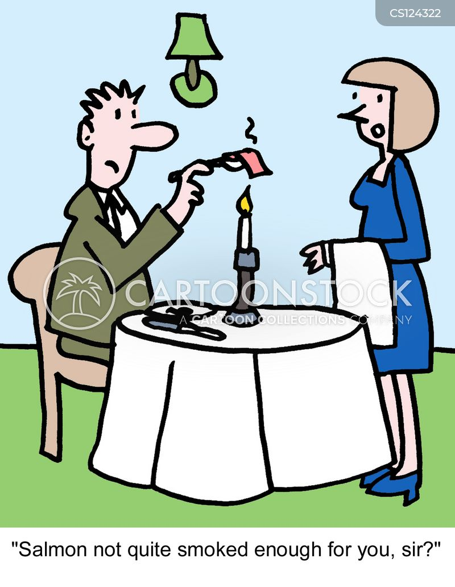 candlelit dinners cartoon