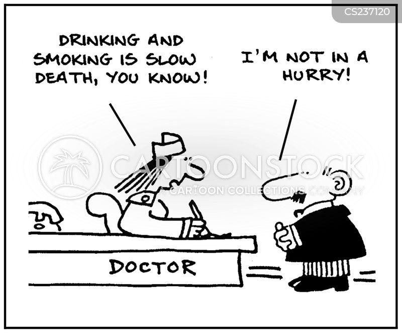 slow death cartoon