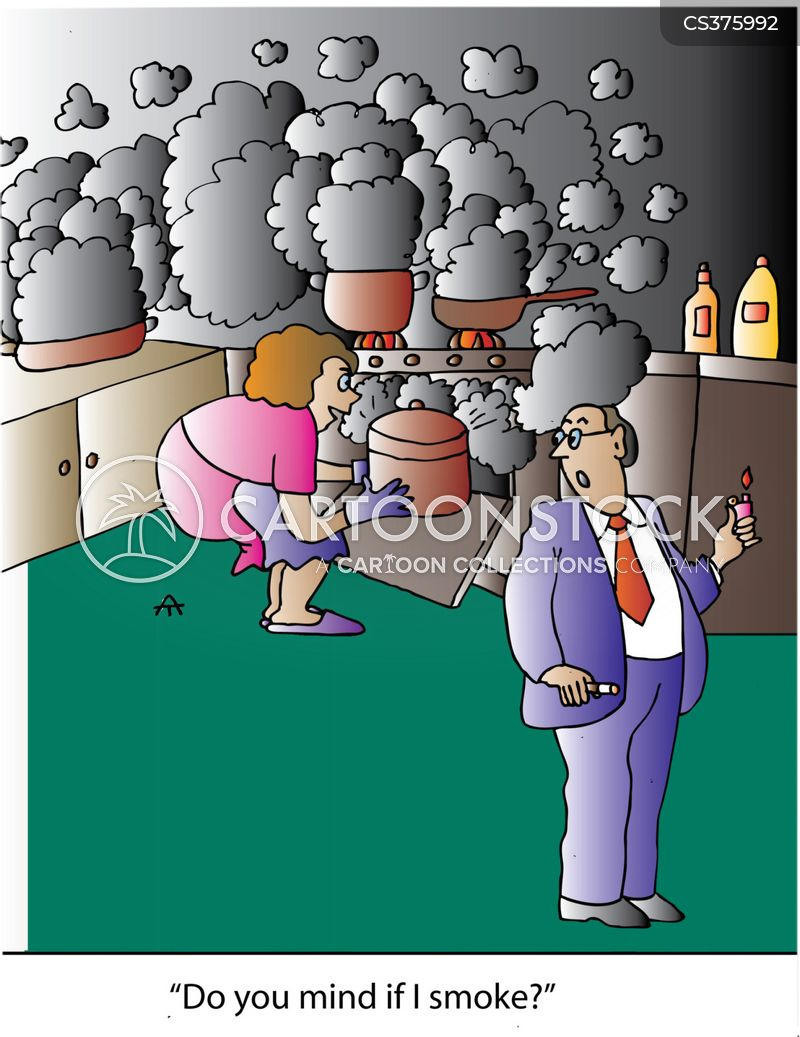 cooking disasters cartoon