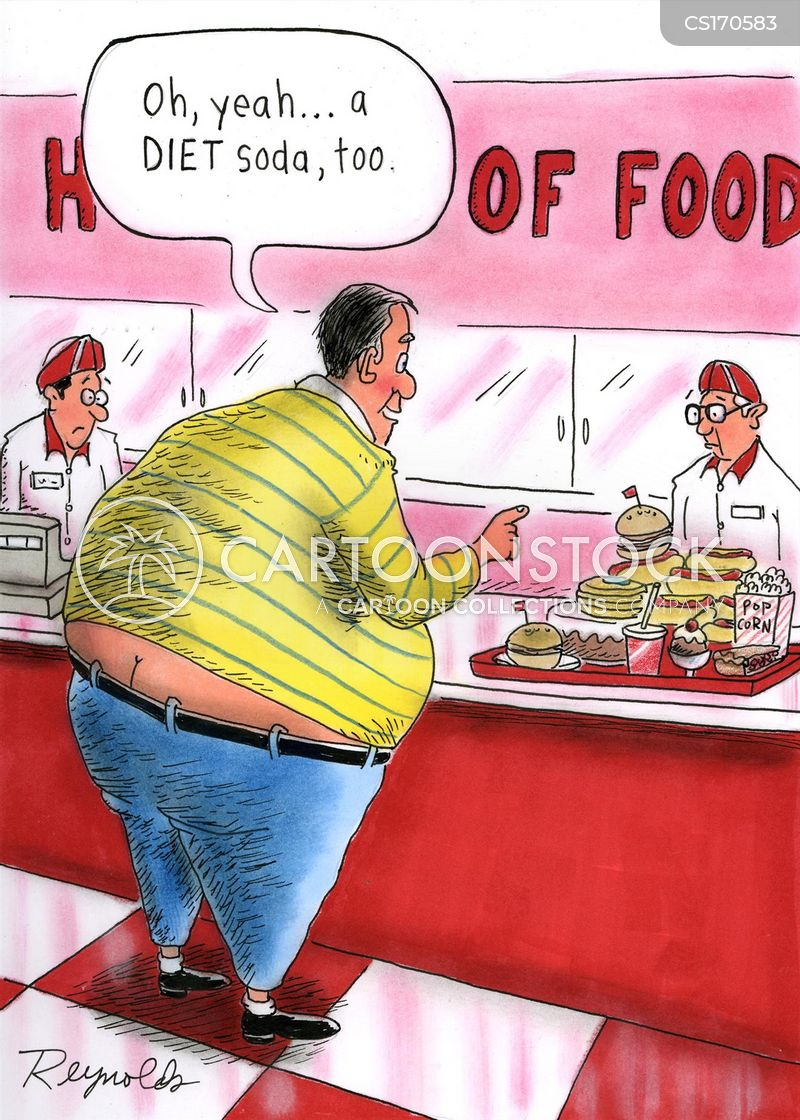 Funny Fast Food Cartoons Fast Food Restaurant Cartoon 3