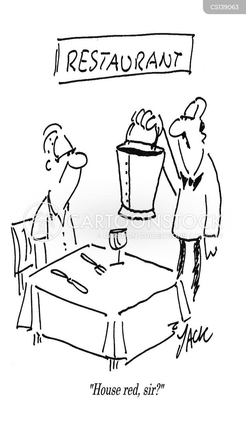 wine snobbery cartoon