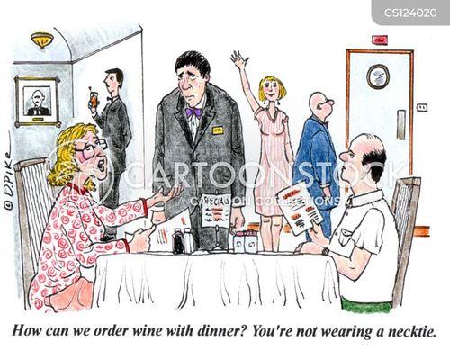 drink menu cartoon