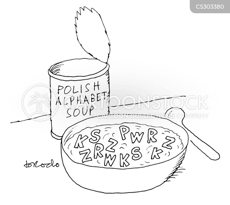 canned soup cartoon