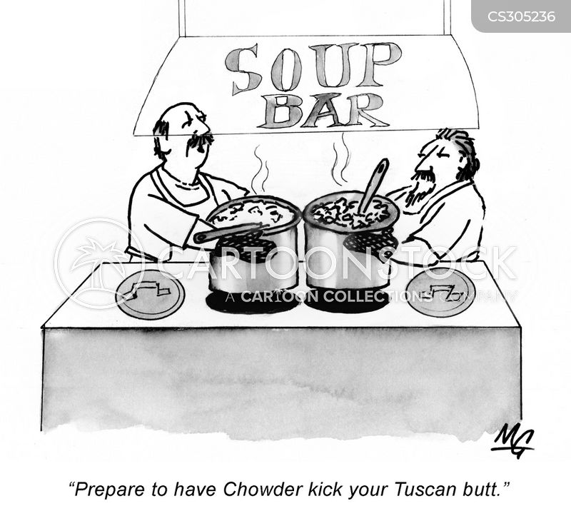 tuscan cartoon