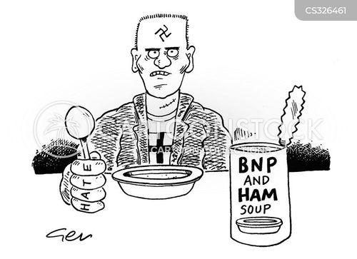 pea soup cartoon