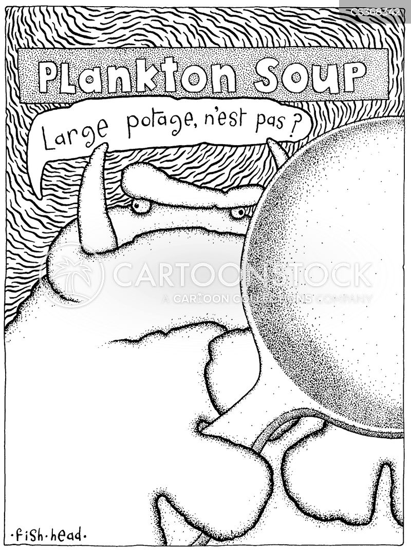 plankton cartoon