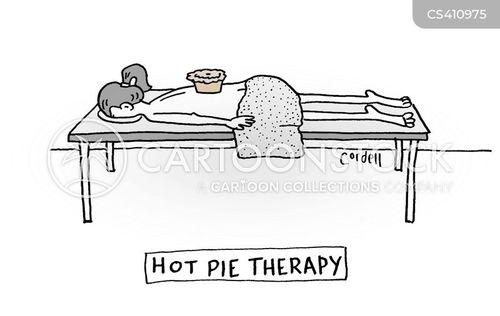 spa treatments cartoon