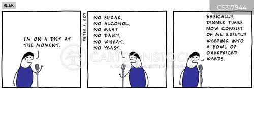 yeast cartoon