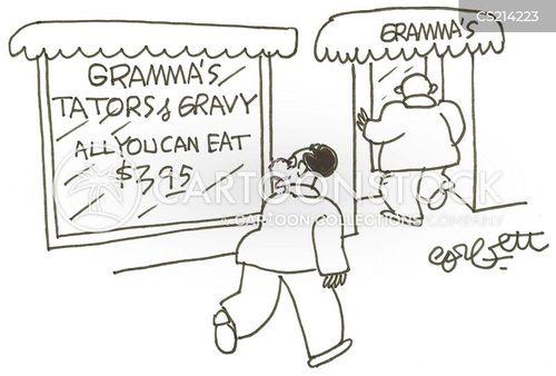 gravy cartoon