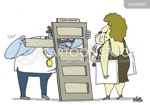 food price cartoon