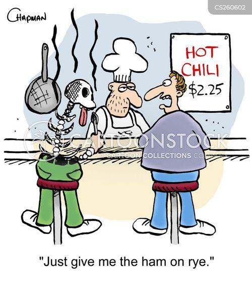 hot chili cartoon