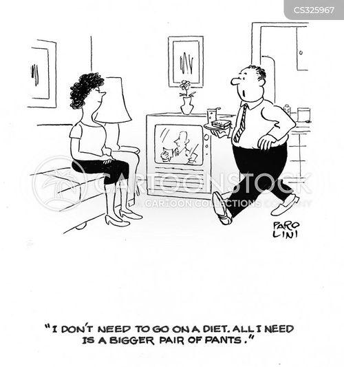 health diet cartoon