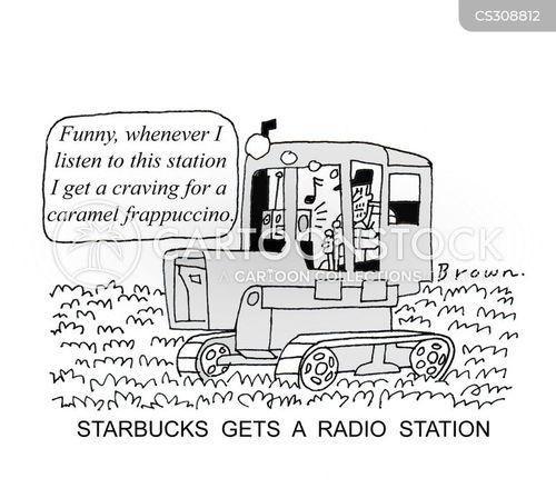 radio station cartoon
