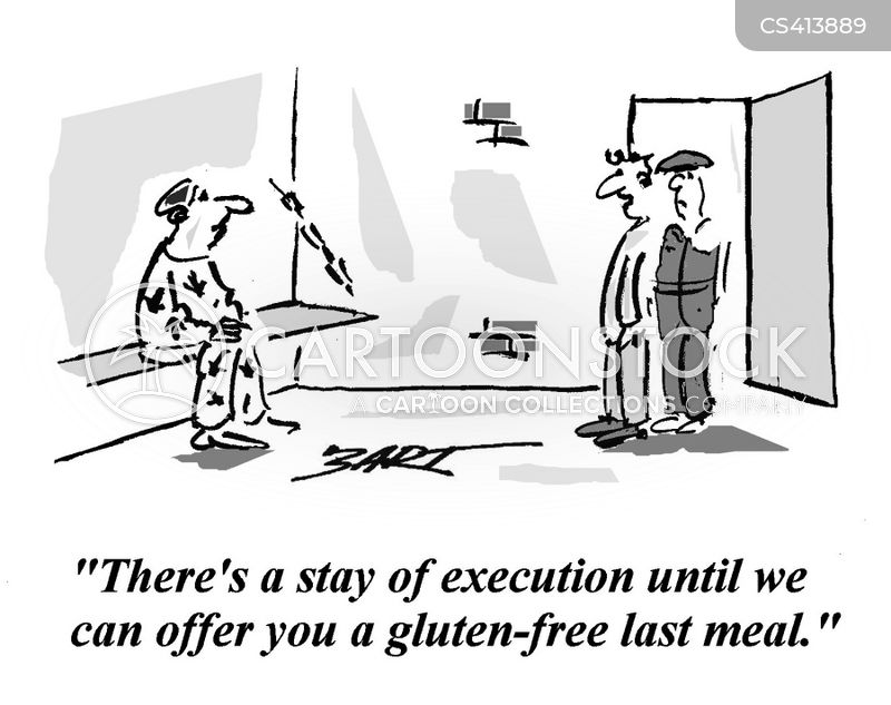 stay of execution cartoon