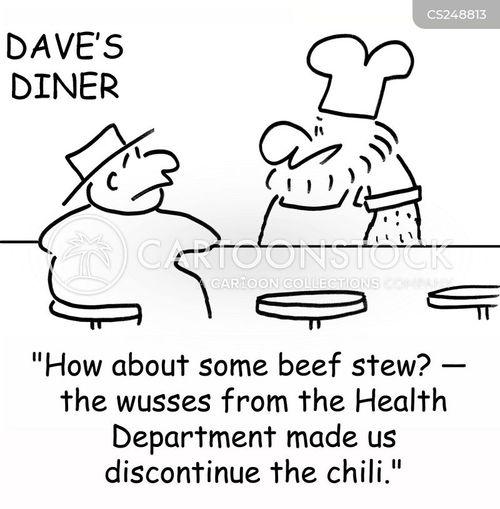 health department cartoon