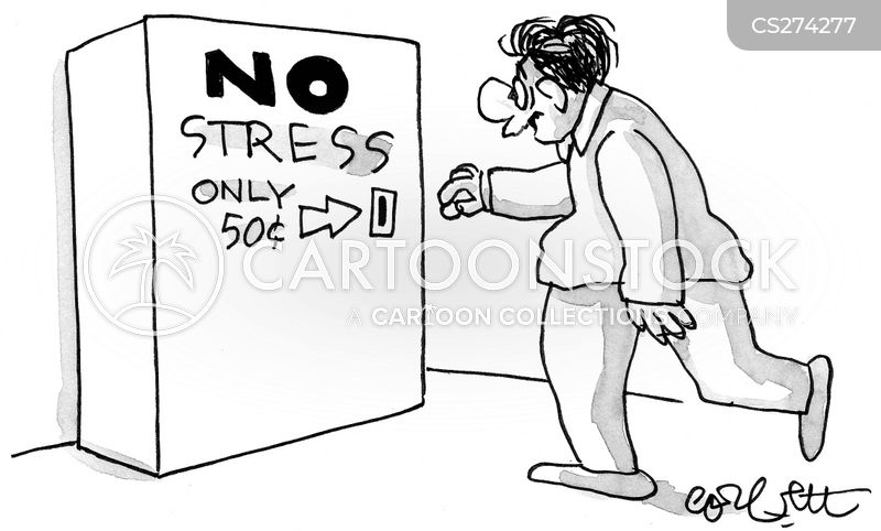 stress free cartoons and comics funny pictures from cartoonstock