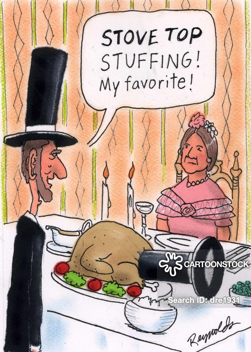 chicken stuffing cartoon