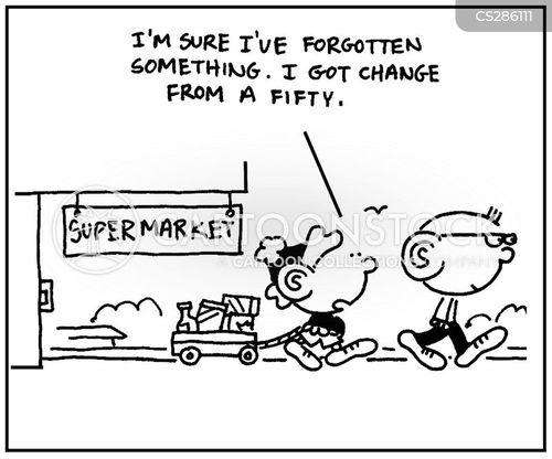 forgetfully cartoon
