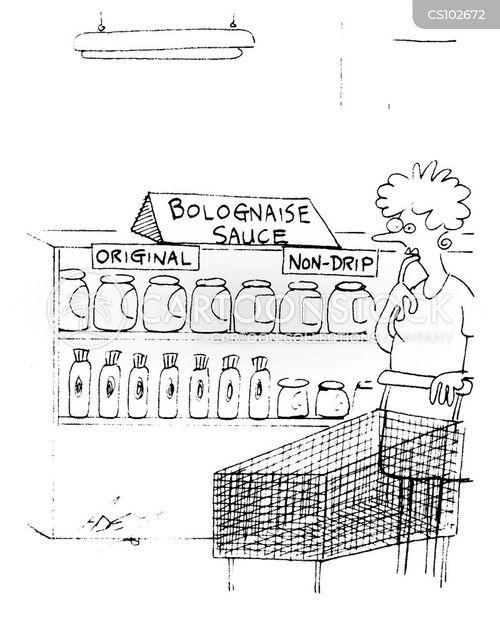 bolognaise cartoon