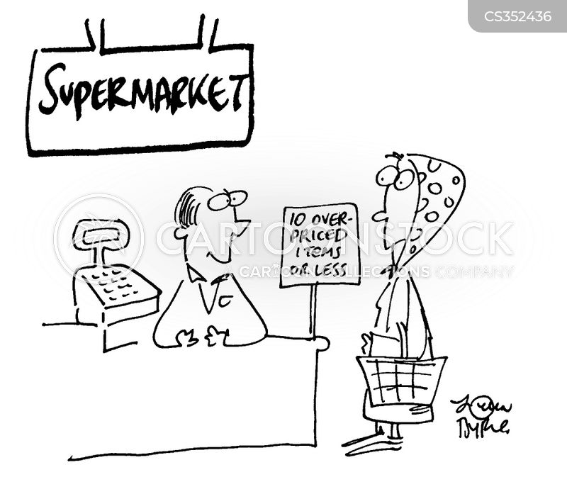 price war cartoon
