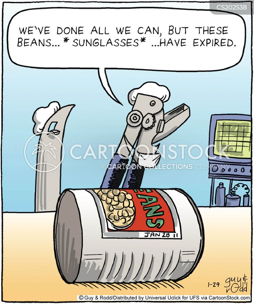 can openers cartoon