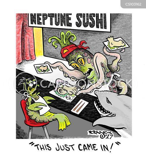 fresh catch cartoon