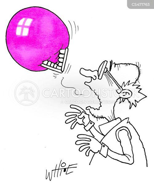 bubblegum cartoon