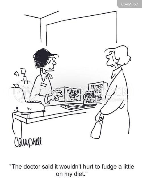 indulging cartoon