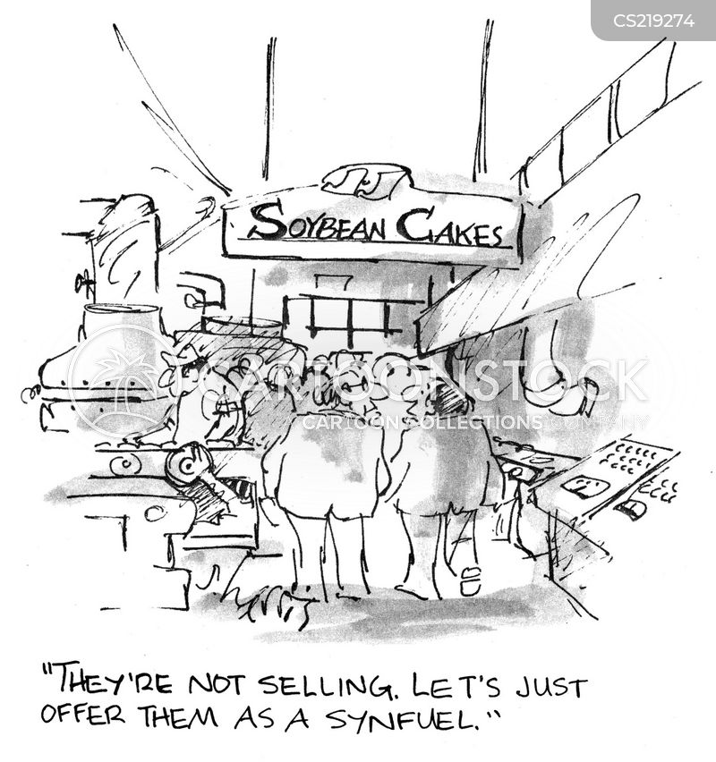 soybeans cartoon