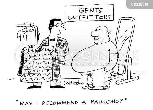 outfitter cartoon