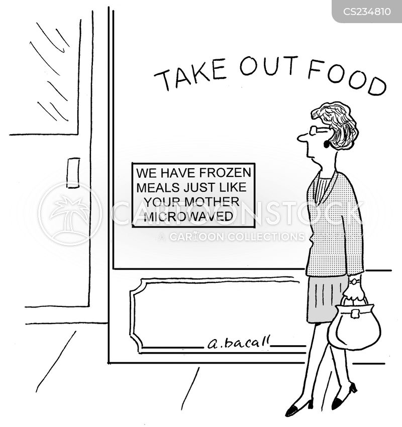 traditional foods cartoon