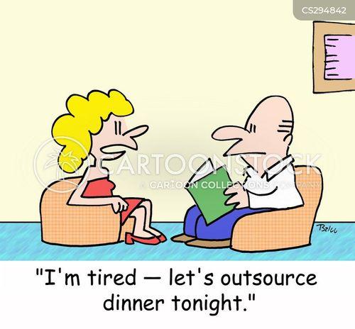 business term cartoon