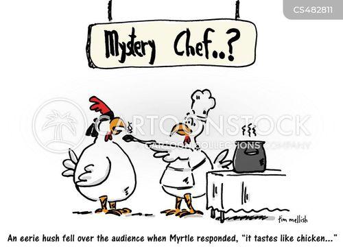 Funny Chicken Cartoons: Tastes Like Chicken Cartoons And Comics