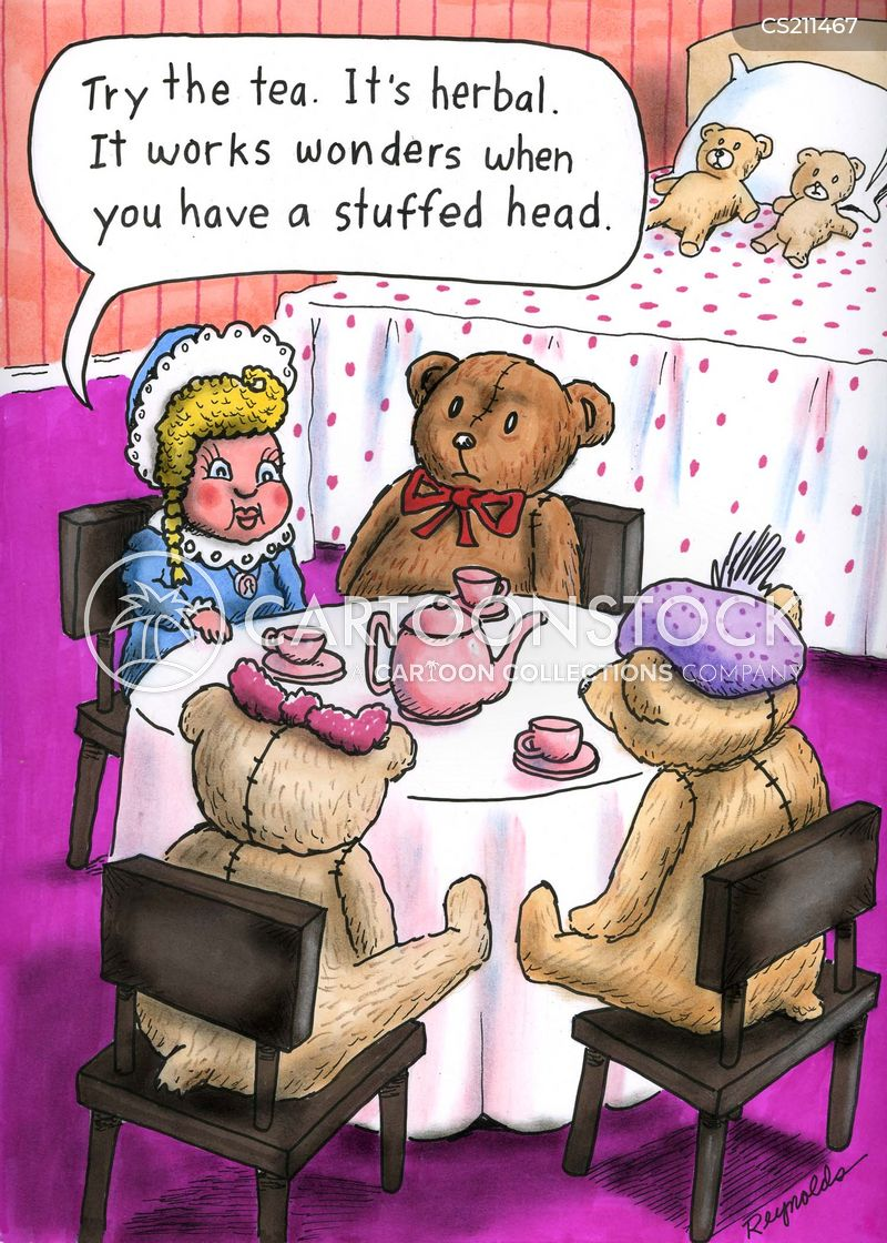 stuffed bear cartoon