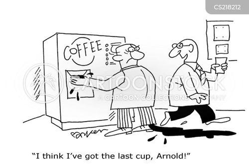 tea drinker cartoon