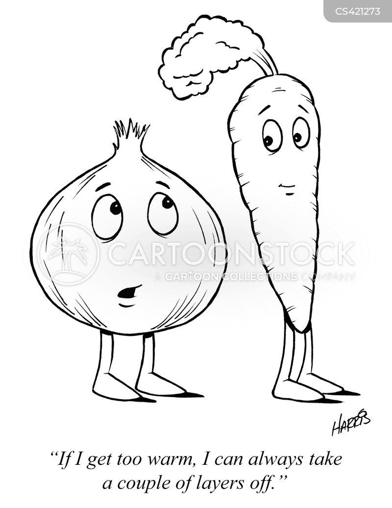 vegetable peelers cartoon